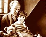 A. A. Milne 和 Christopher Robin